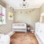 Кровать в детской для детей до 3 лет