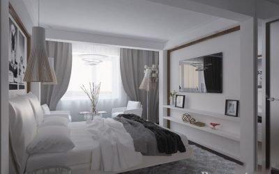 Современный дизайн спальни — оформляем интерьер
