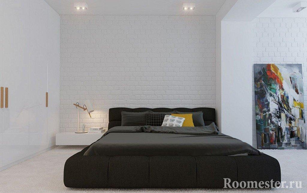 Минимализм в интерьере спальни