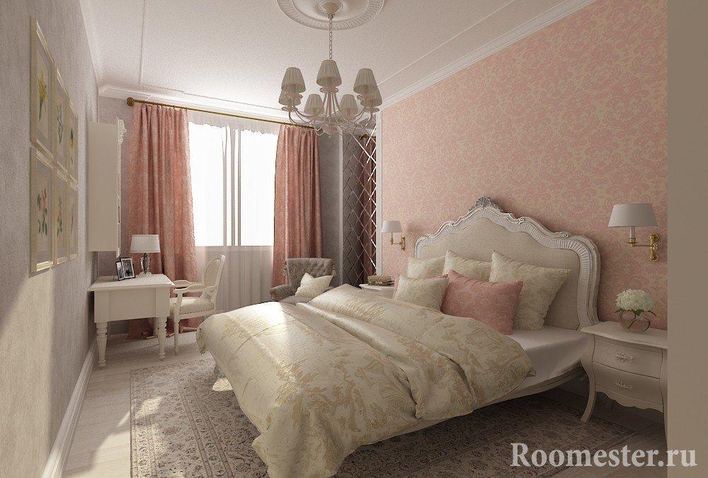 Варианты сочетания цветов в спальне
