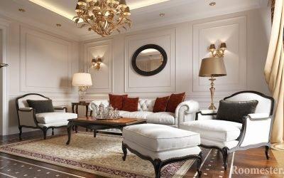 Интерьер квартиры в классическом стиле — 25 фото
