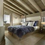 Спальня в мансардном этаже