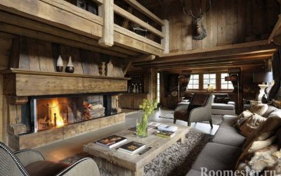 Интерьер в стиле шале — примеры дизайна в доме и квартире