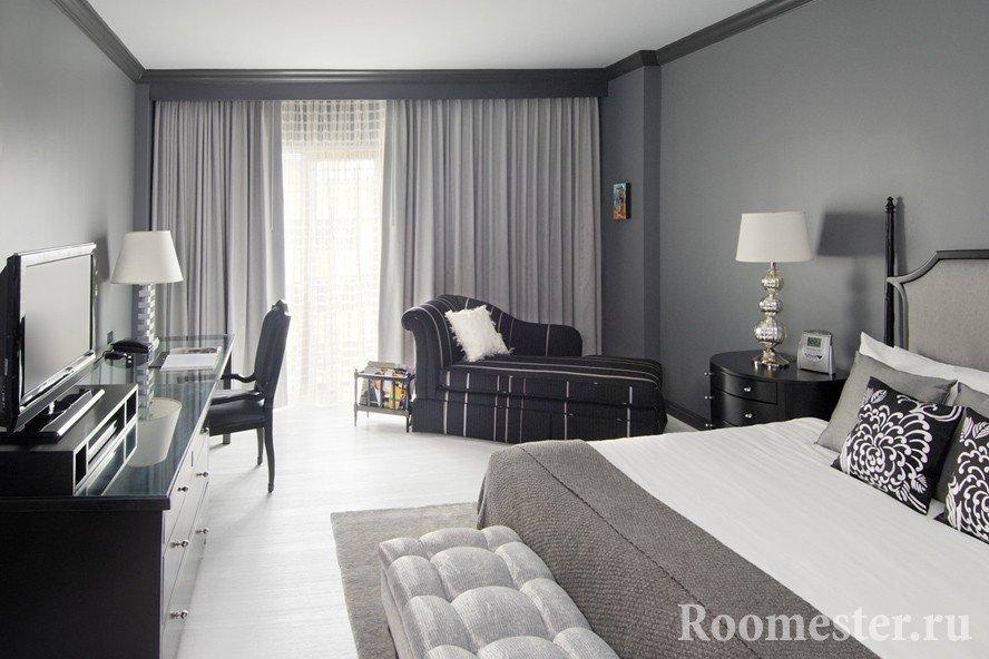 Room in gray