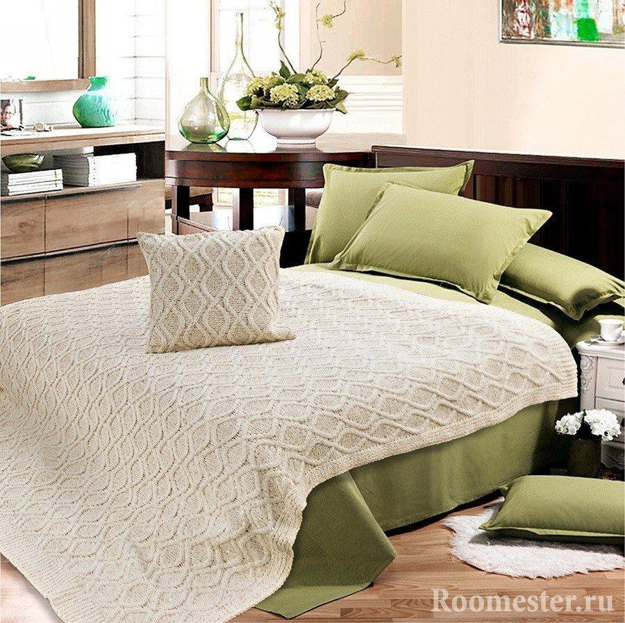 Подушка и покрывало