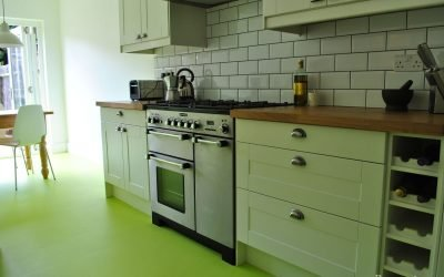 Зеленая кухня в интерьере — 30 примеров дизайна