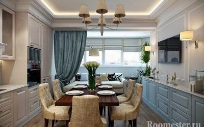 Дизайн кухни с балконом — 25 идей