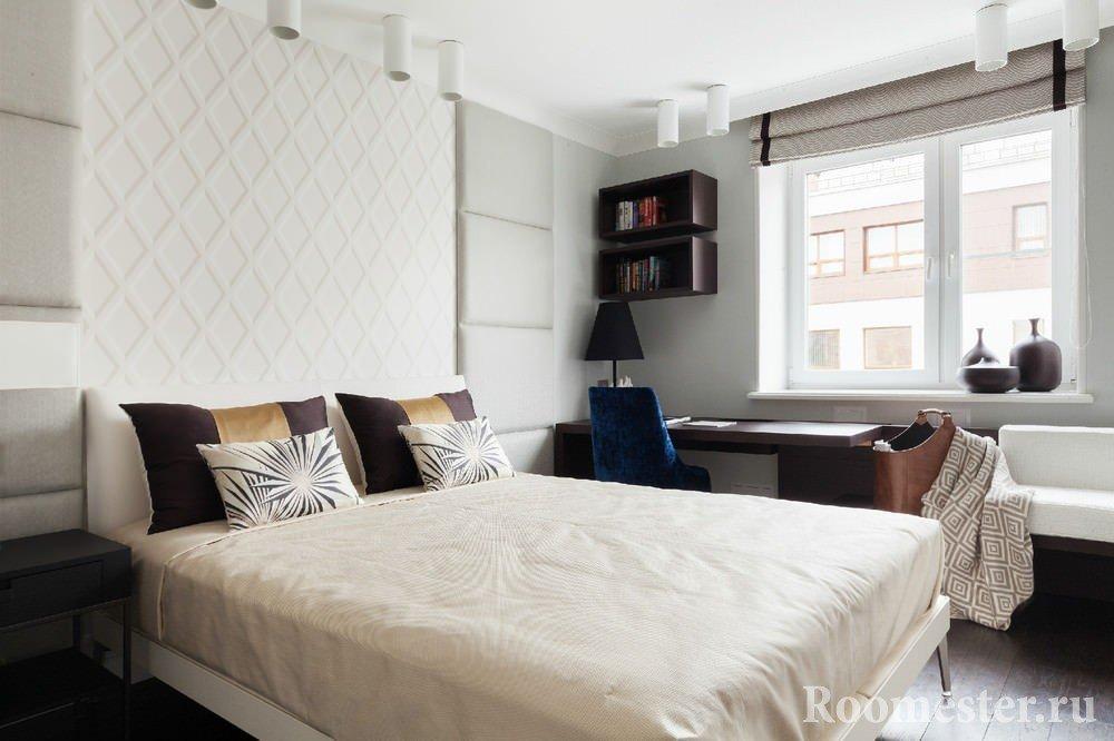 Дизайнерские идеи в оформлении спальни