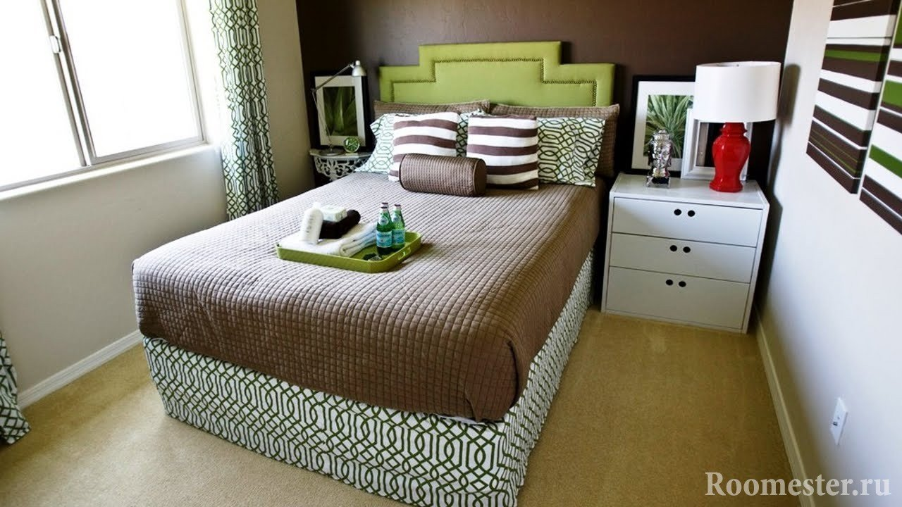 Текстиль в отделке спальни