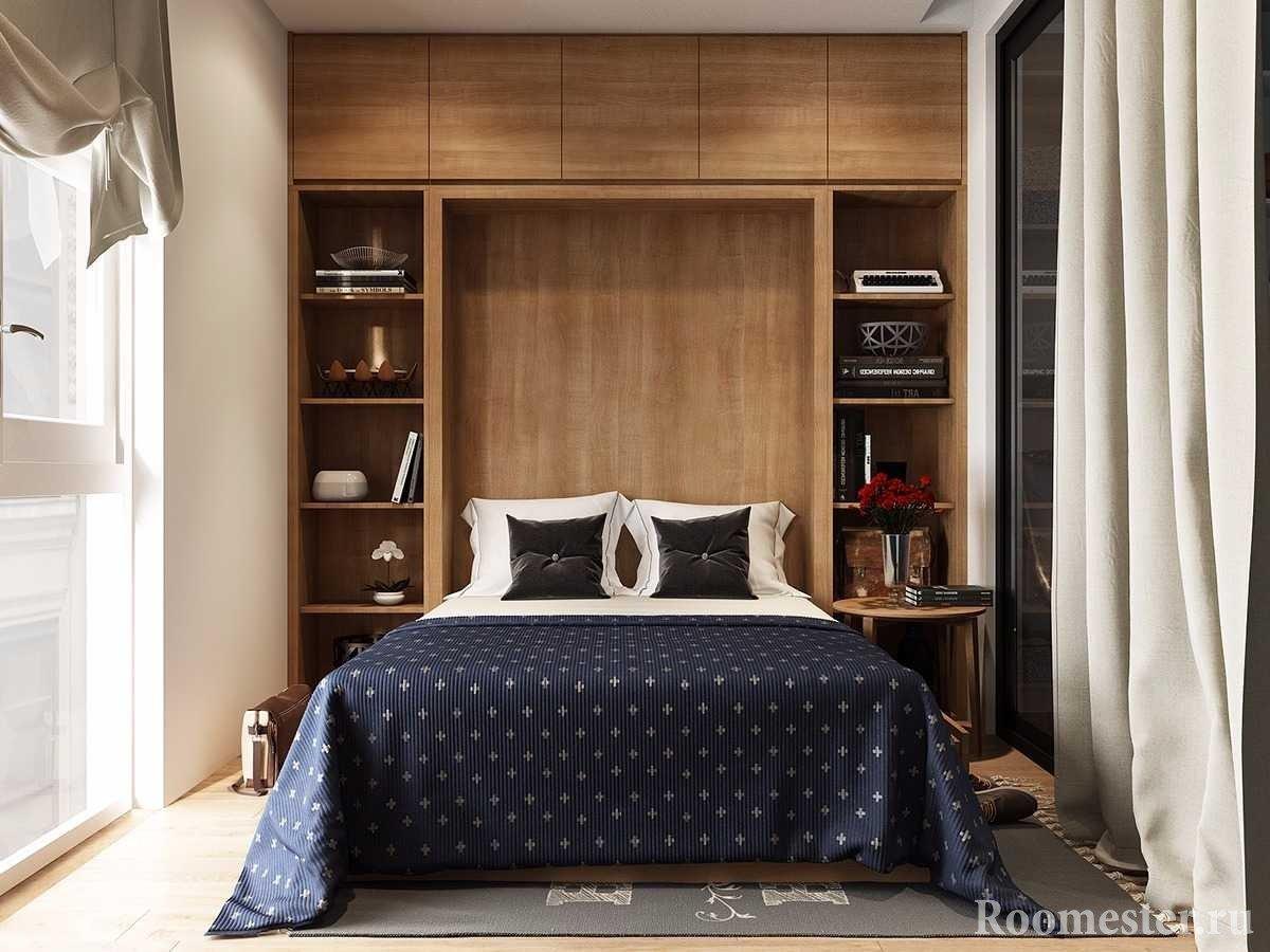Спальня с перегородкой