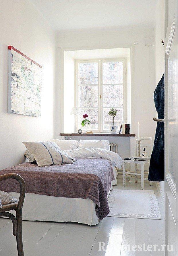 30 идей дизайна узкой спальни