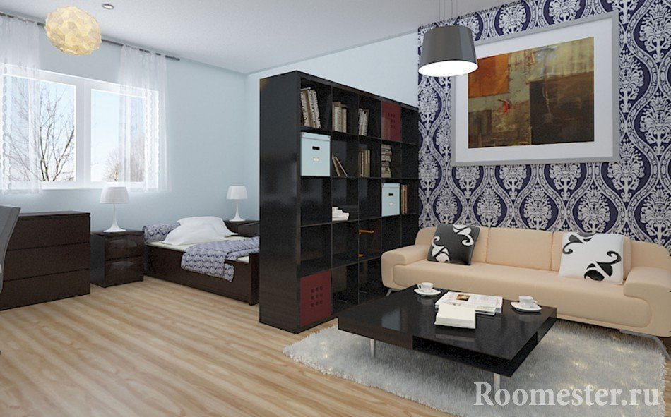 Разделение комнаты на два пространства