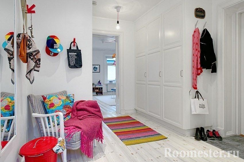 Шкаф-купе в коридоре сэкономит место в комнатах