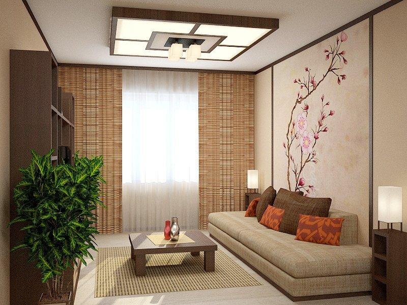 Дизайн квартиры студии в японском стиле фото