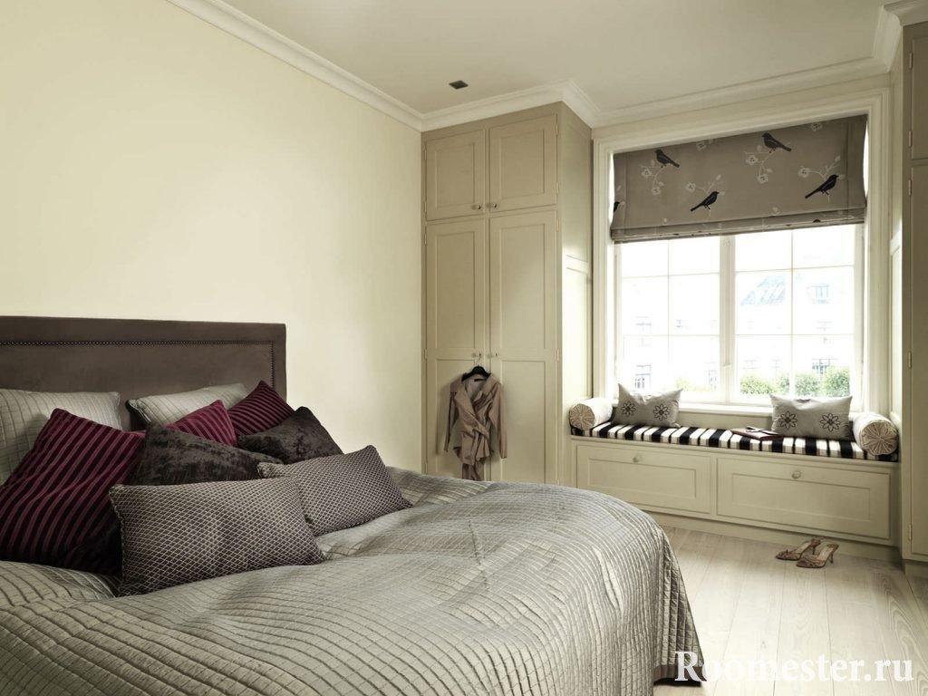 Классический прием в дизайне маленькой длинной комнаты
