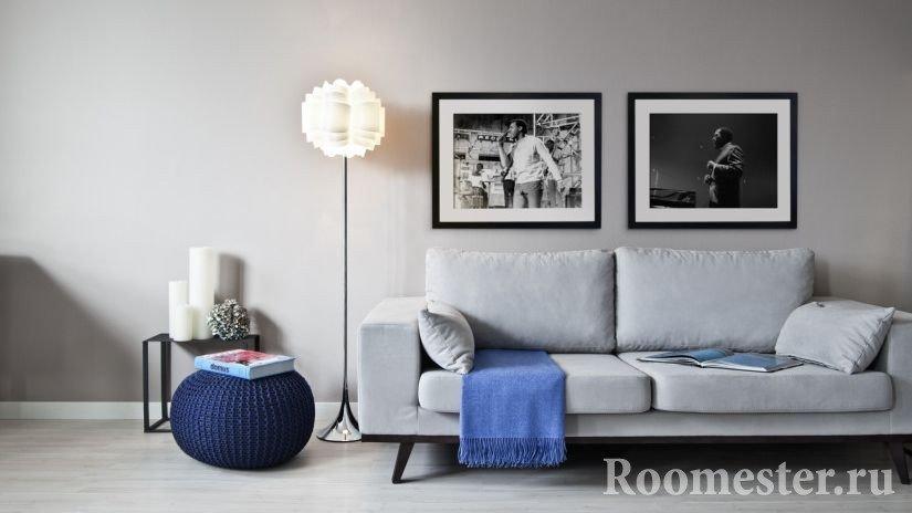 Расстановка мебели для узких комнат