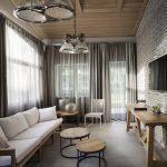 Интерьер дизайн узкой комнаты
