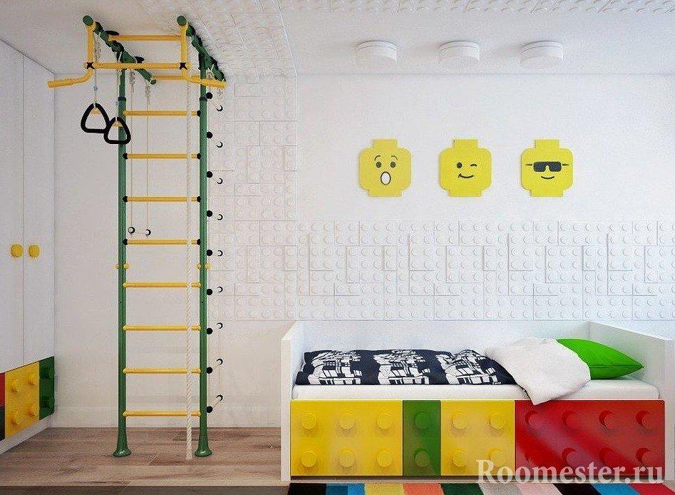 3d панели в детской комнате