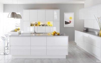 Белая кухня в интерьере — идеи и реализация на фото