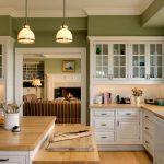 Кухня с аркой