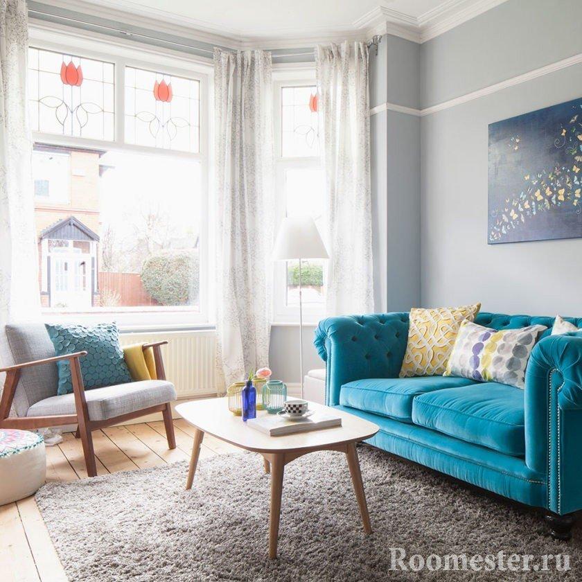 Цветная мебель для интерьера