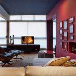 Стены двух разных цветов