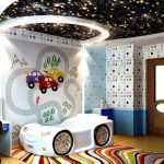 Звездное небо в детской комнате