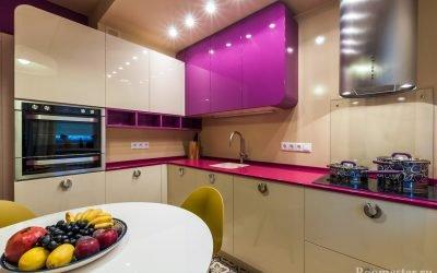 Дизайн кухни 8 кв м — 30 фото примеров