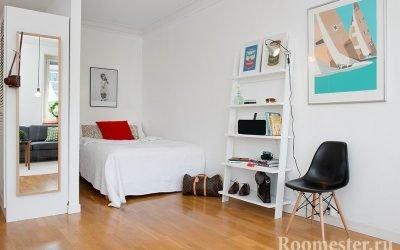 Варианты дизайна однокомнатной квартиры с нишей — самые удачные дизайнерские решения