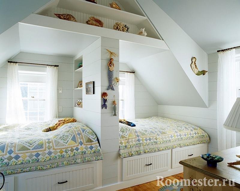 Спальня для двойняшек