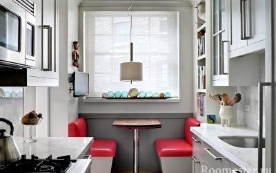 Дизайн узкой кухни — советы и примеры