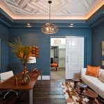 Using ceiling and door moldings