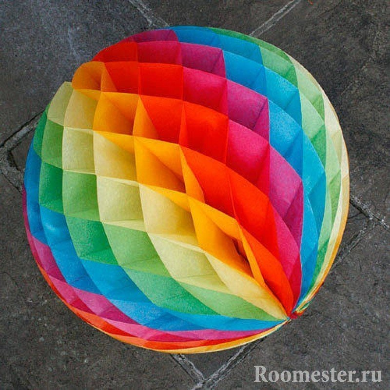 Радужный шар