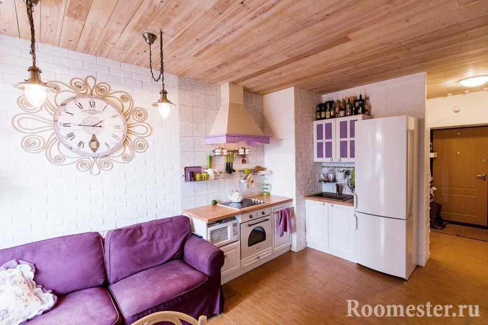 Стиль прованс в маленькой квартире
