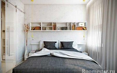 Дизайн спальни 10 кв. м — интерьер для маленькой площади