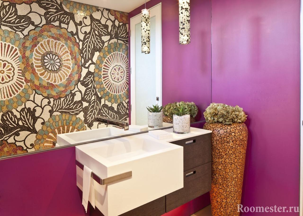 Ваза для ванной комнаты