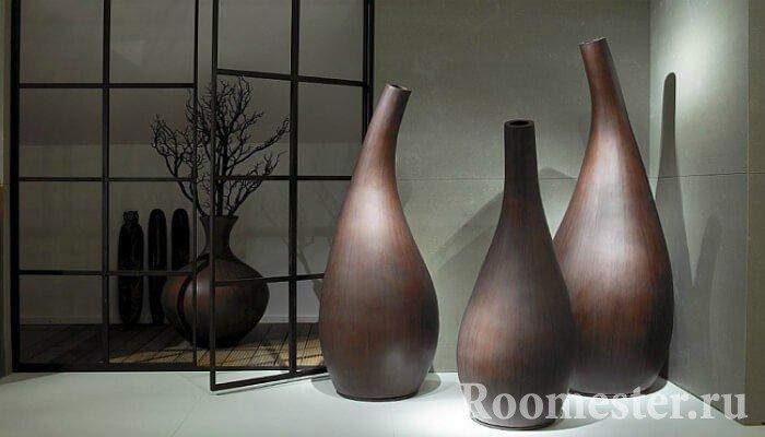 Необычная форма ваз