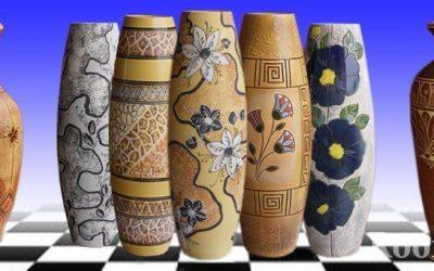 Напольные вазы в интерьере +51 фото разных стилей и форм