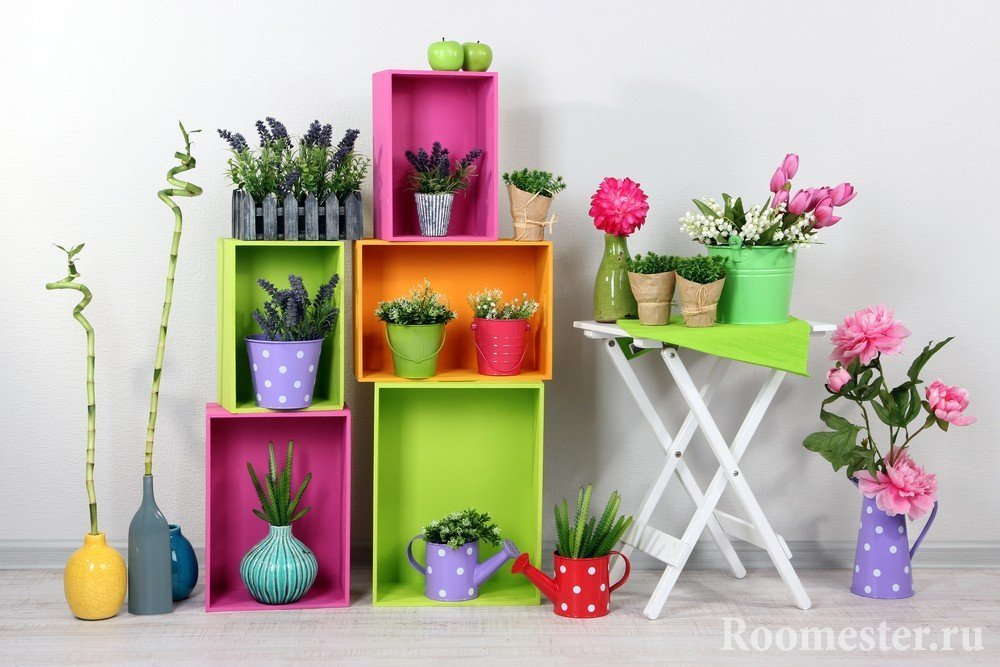 Вазочки для детской с пряными растениями