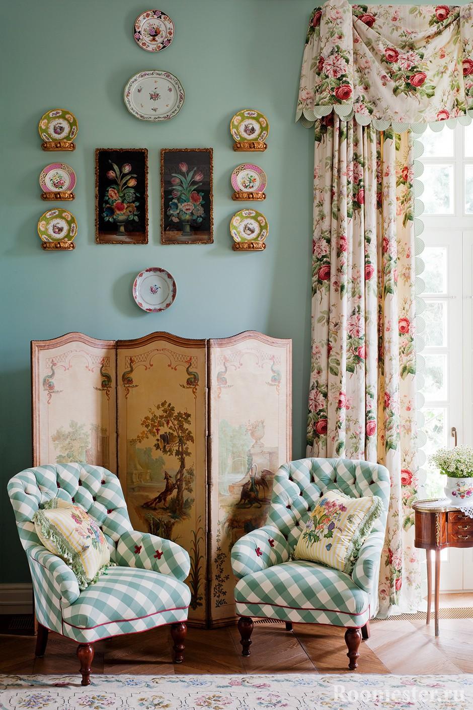 Декор комнаты под русский стиль
