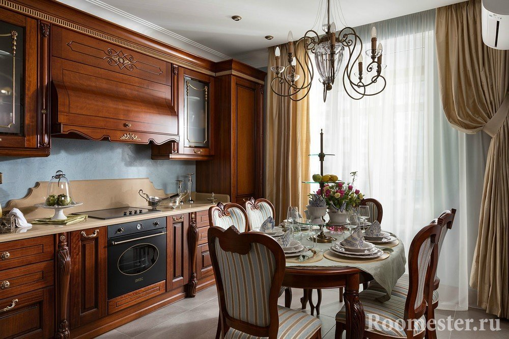 Кухня в современном русском стиле