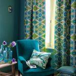 Цвет штор под расцветку комнаты