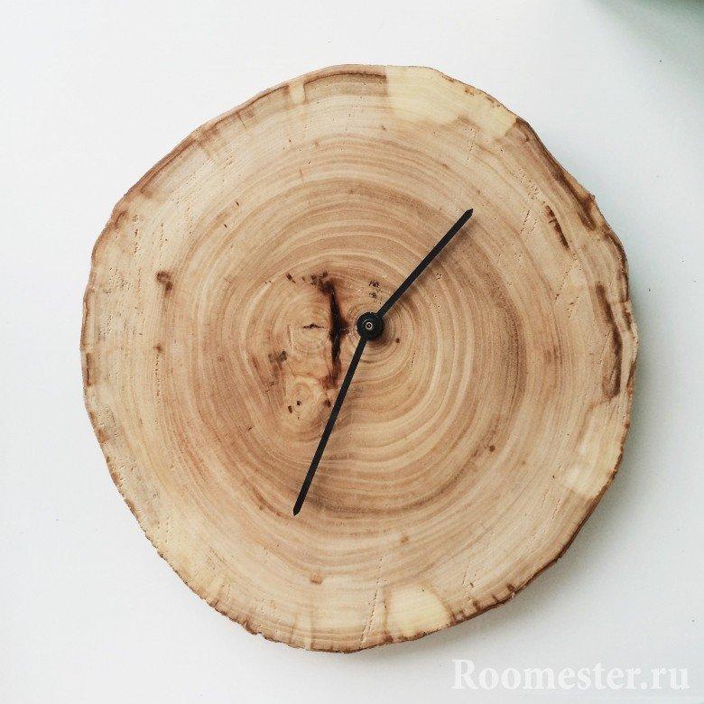 Циферблат для настенных часов из дерева