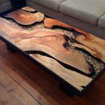 Стол с выжжеными каналами