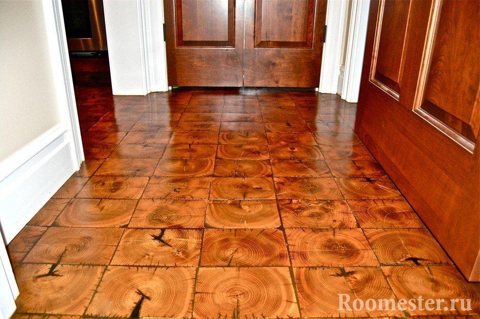 Деревянные плитки