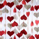 Ленты из сердец