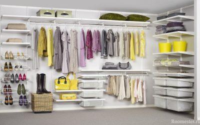 Дизайн гардеробной комнаты +30 фото примеров