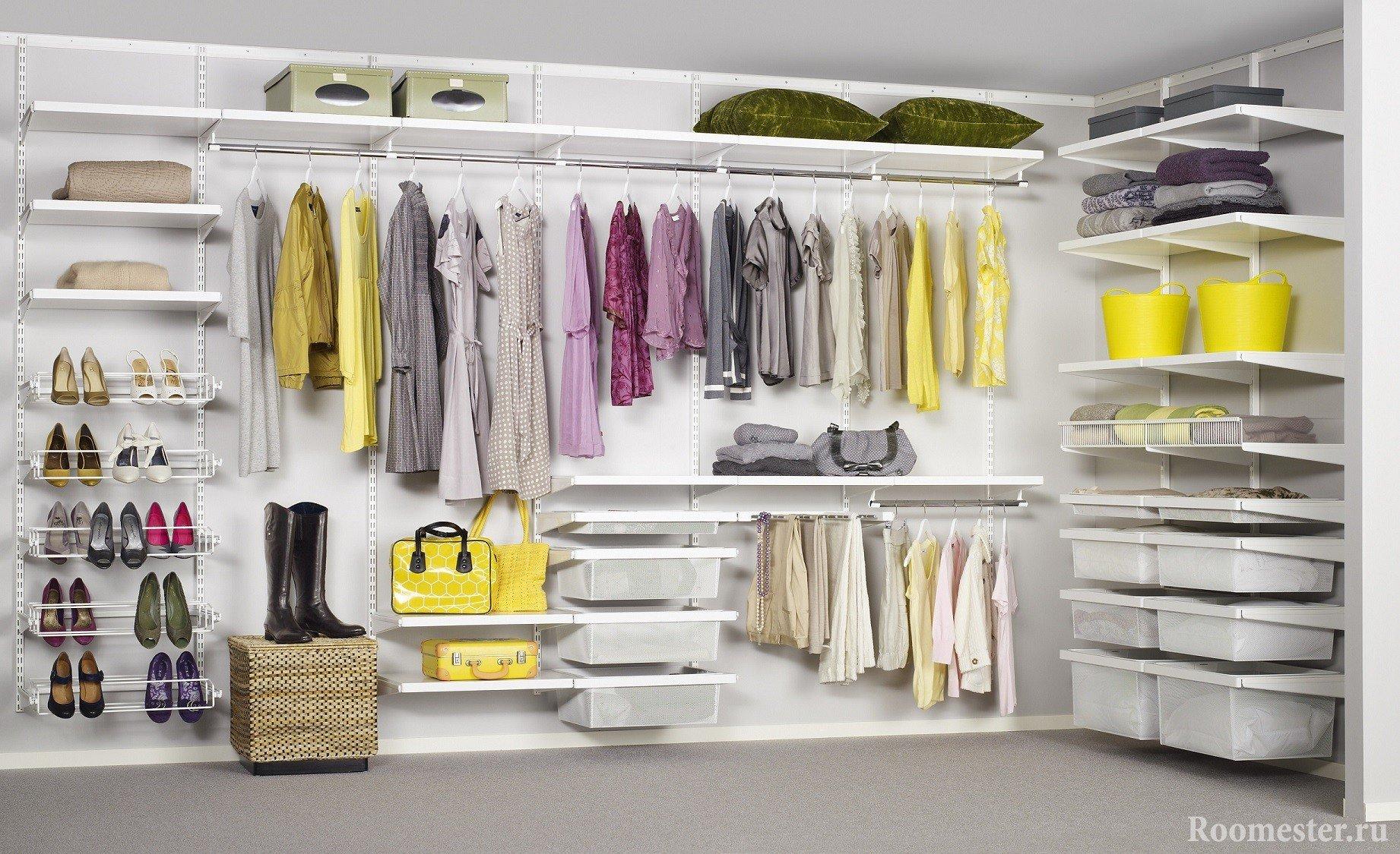 Готовые системы для гардеробной