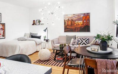 Дизайн комнаты 18 кв м — идеи планировки