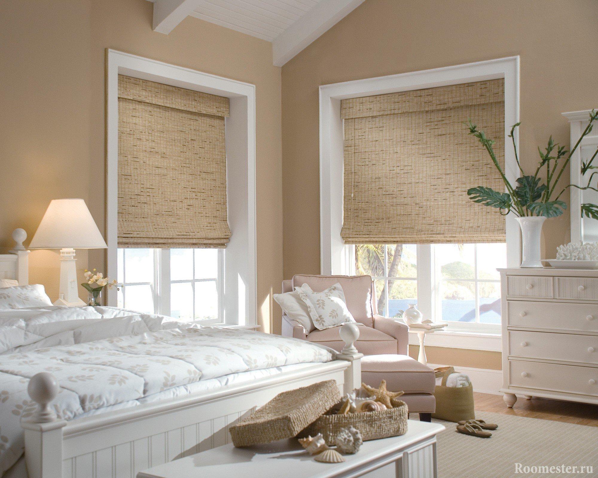 Бамбуковые ролл-шторы